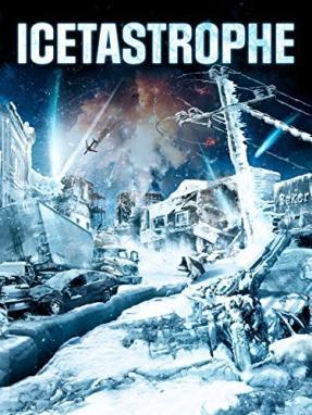 圣诞节冰晶爆炸电影海报