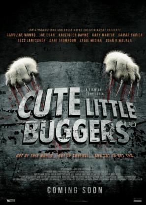 可爱的小东西/cute little buggers电影海报